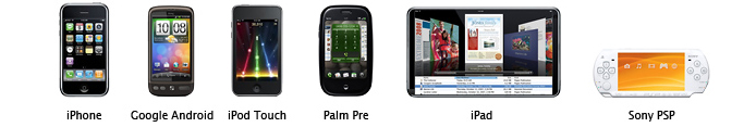 compatible mobile devices